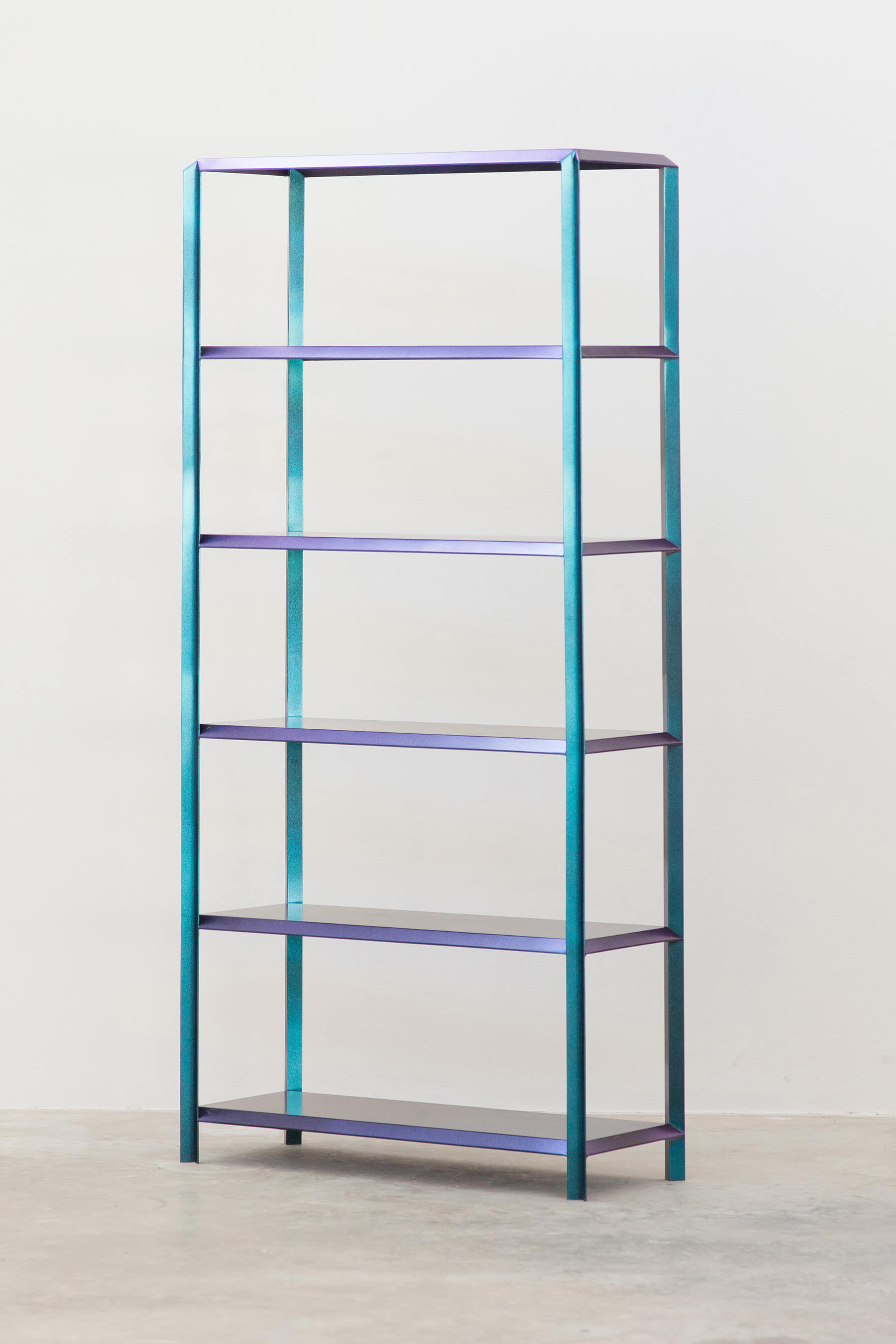 Marco Campardo Elle Collection Brass Bookshelf Wallpaper Design Awards winner for Seeds London Gallery