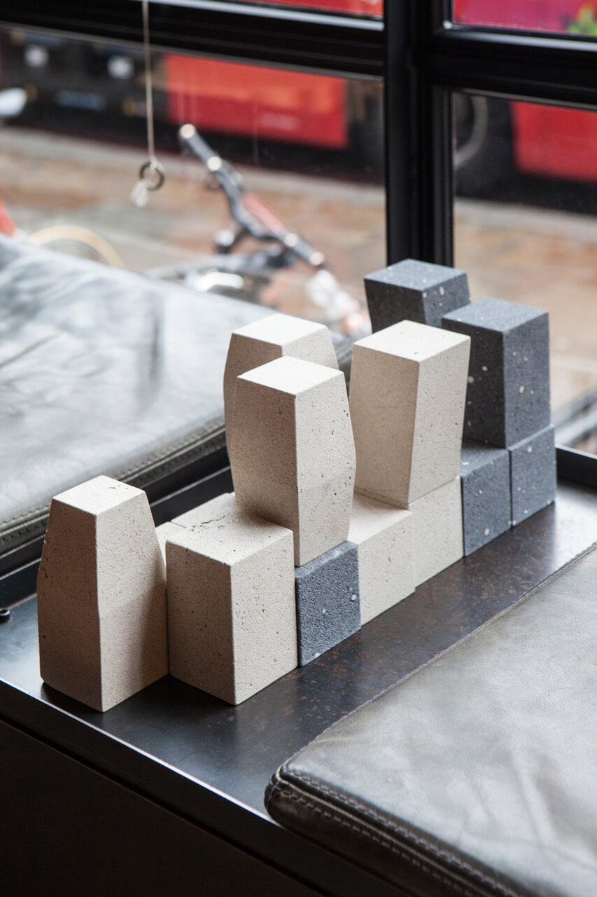 Marco Campardo Bianco e Nero Coffee Chess Table Silicastone Ace Hotel